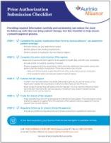 Prior Authorization Checklist